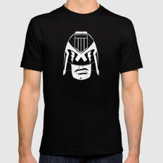 DREDD! Black SMALL Mens Fitted Tee