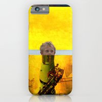 iPhone & iPod Case featuring start the boy by Caitlin Burns