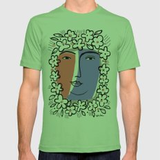 Goddess of Spring Mens Fitted Tee Grass SMALL