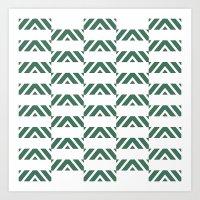 Pattern11 Art Print