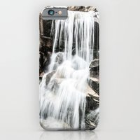 iPhone & iPod Case featuring Waterfall by AllanB