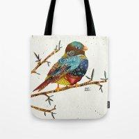 Twilight Bird 2 Tote Bag