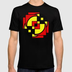Morph The Power SMALL Black Mens Fitted Tee