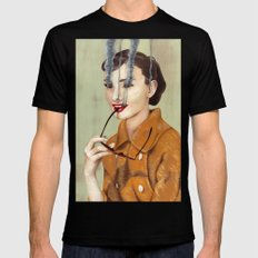 Audrey Hepburn Mens Fitted Tee SMALL Black