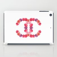 channel of roses iPad Case