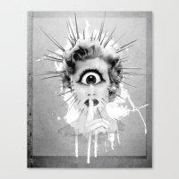 Shhh… Redux Canvas Print