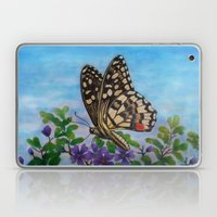 Chequered swallowtail  Laptop & iPad Skin