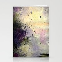 Abstract Mixed Media Des… Stationery Cards