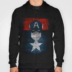 Yankee Captain grunge superhero Hoody