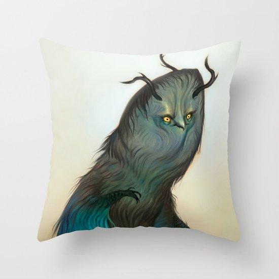 Mischievous Chacac Throw Pillow