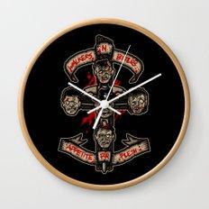 Appetite For Flesh Wall Clock