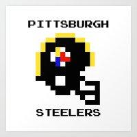 Old School Pittsburgh St… Art Print