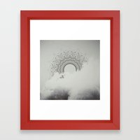 The Invisible Spectrum Framed Art Print