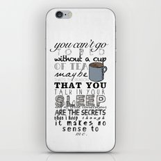 One Direction: Little Things iPhone & iPod Skin