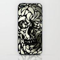 iPhone & iPod Skin featuring Skull by Ali GULEC