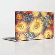 Shabby Flowers #3 Laptop & iPad Skin