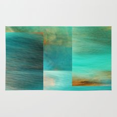 Fantasy Oceans Collage Rug