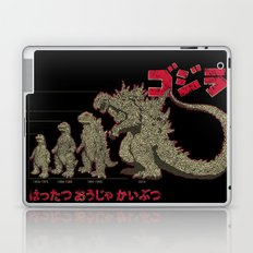 Evolution of The King of Monsters Laptop & iPad Skin