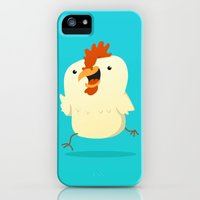 iPhone 5s & iPhone 5 Cases featuring Little Chicken by Pedro Vilas Boas