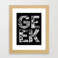 I Be Au Sm Framed Art Print