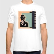 Jazzman Mens Fitted Tee White SMALL