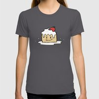 Tres Leches Womens Fitted Tee Asphalt SMALL
