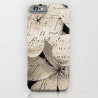 iPhone & iPod Case featuring Letter from Paradise by Karen Lindale