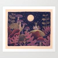 Night Music Art Print