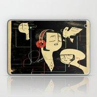 乐 Music Lovers Laptop & iPad Skin