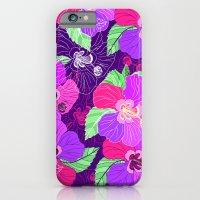 Purple Hibiscus iPhone 6 Slim Case
