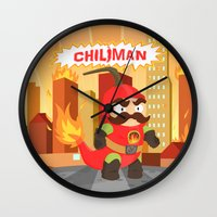 Chiliman Wall Clock