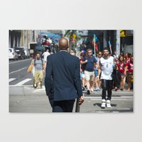 nyc modern mad men2 Canvas Print
