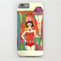 iPhone & iPod Case featuring Strong woman by Natsuki Otani