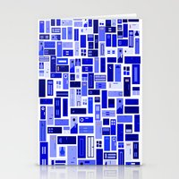 Doors - Blues Stationery Cards