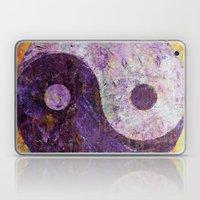 Purple Yin Yang Laptop & iPad Skin