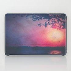 Worth The Suffering  iPad Case