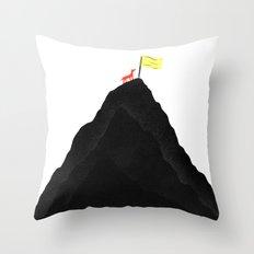 Man & Nature - To The Top Throw Pillow