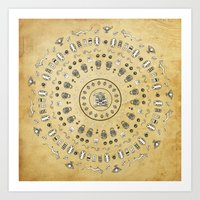 Spirit Mandala Art Print