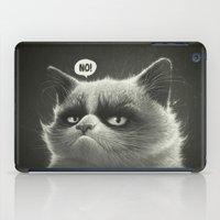 Grumpy I. iPad Case