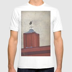 Witch Mens Fitted Tee White SMALL