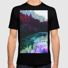 Terrarium Mens Fitted Tee Black SMALL