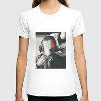 BROTHERS Womens Fitted Tee White SMALL