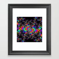 Psychedelic Space Framed Art Print