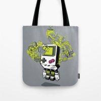 Pixel Dreams Tote Bag