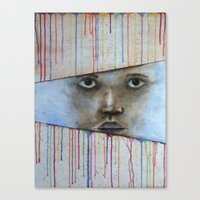 Through The Colors Of Li… Canvas Print