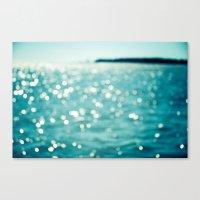 Sea Sparkle Canvas Print