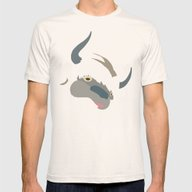 Cute Appa Mens Fitted Tee Natural SMALL