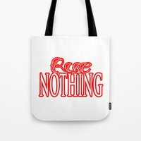 Rue Nothing Red Logo Tote Bag