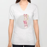 Blondy Girl Unisex V-Neck
