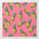 fresh pineapple! Canvas Print